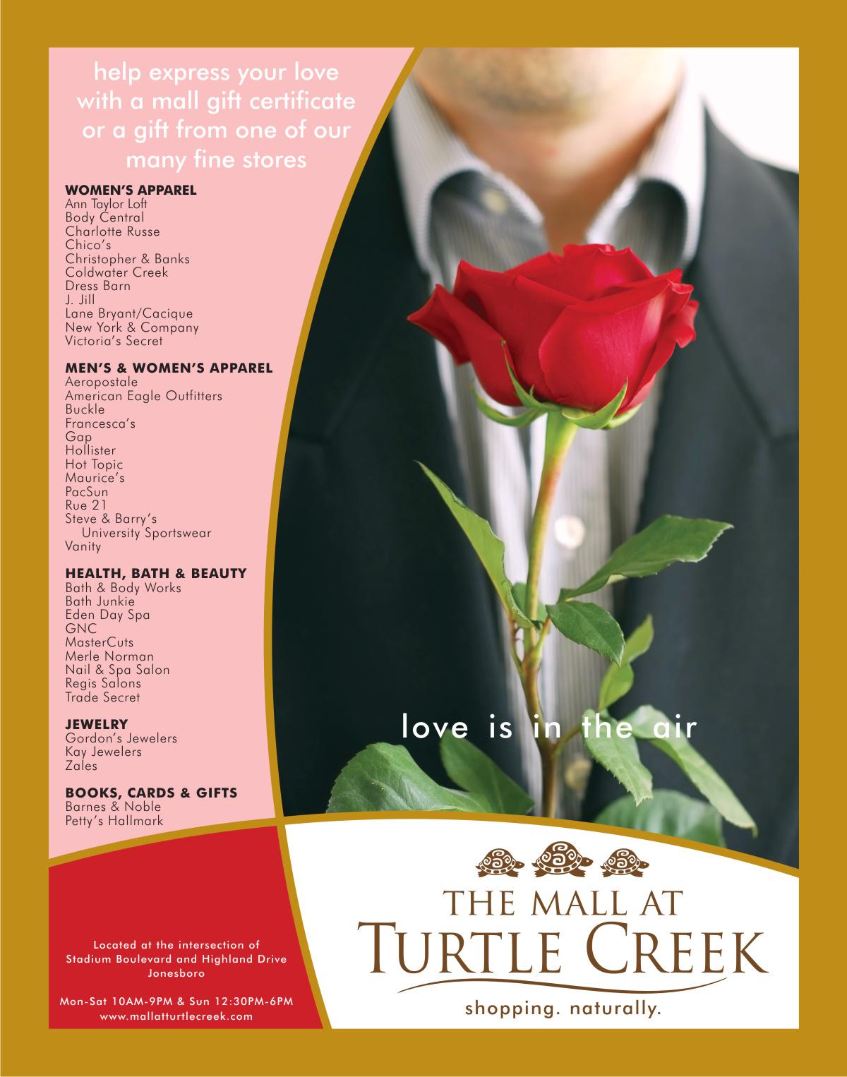 Valentine's Magazine Ad | Graphic Design by Cybergraph