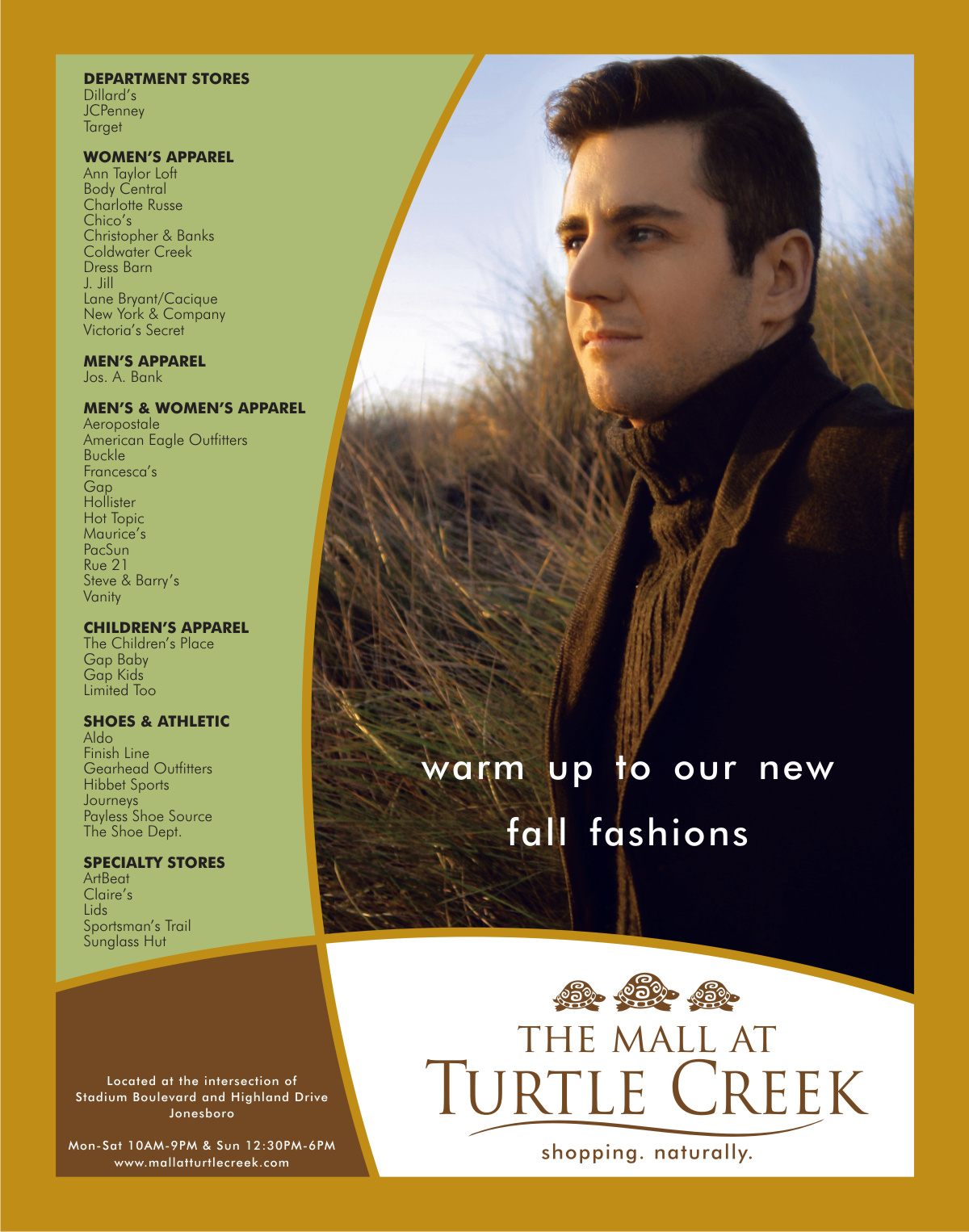 Fall Fashion Ad | Graphic Design by Cybergraph