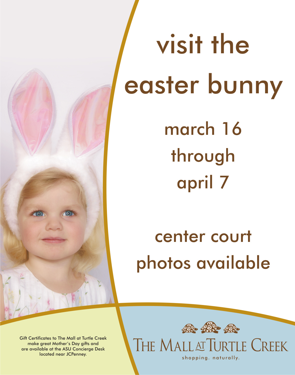 In-Mall Easter Poster | Graphic Design by Cybergraph