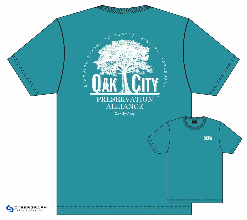 Oak City Custom T-Shirt Design by Cybergraph