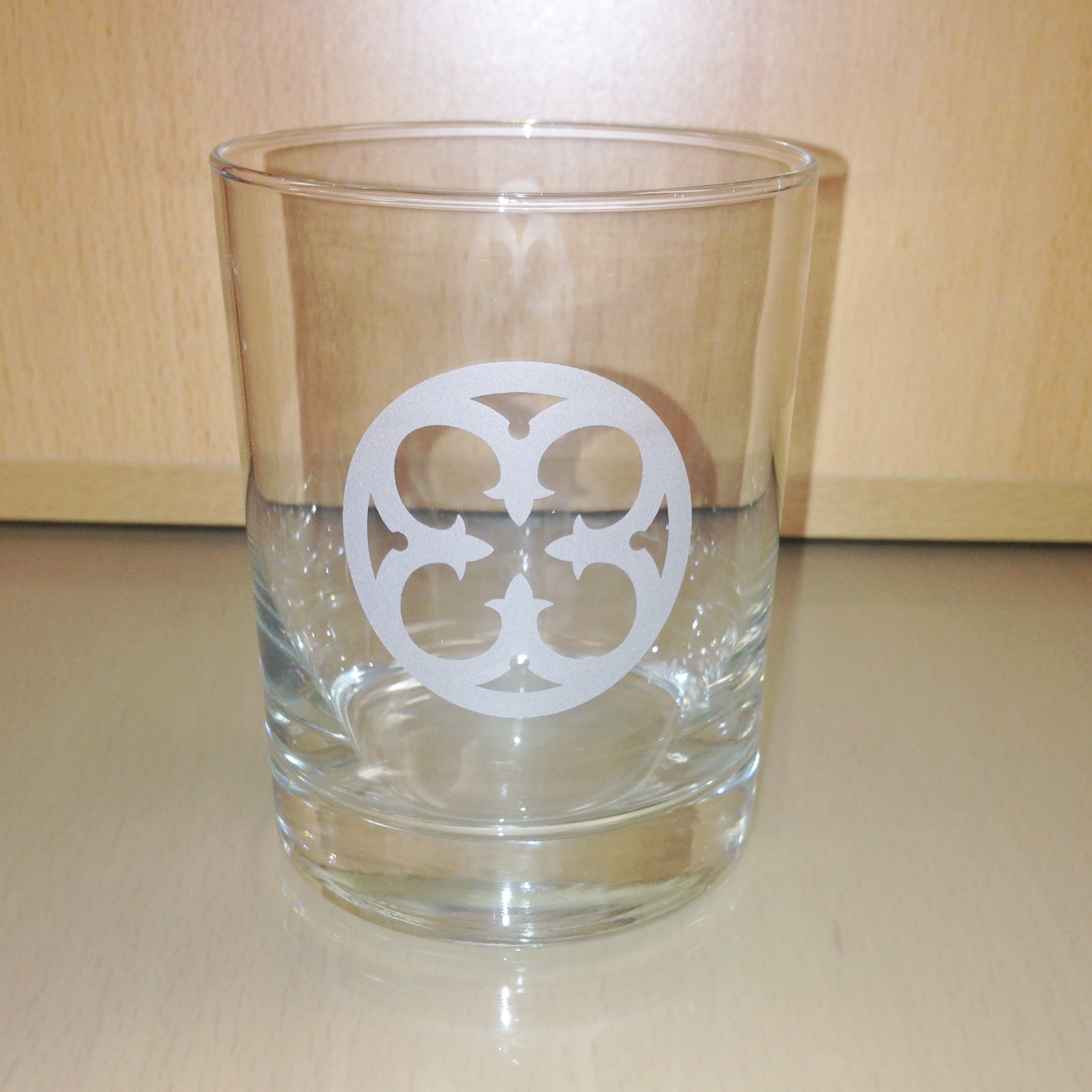 Etched Glass Tumblers