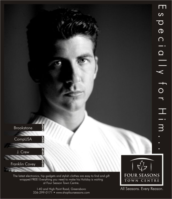 Four Seasons Image Ad | Design by Cybergraph of Raleigh
