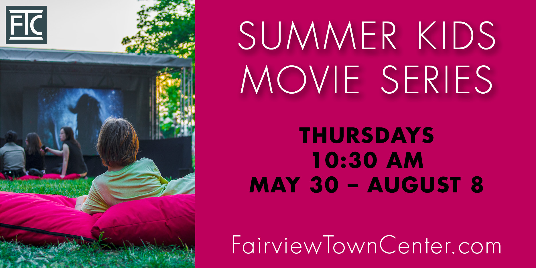 Summer Movies LED Display Ad