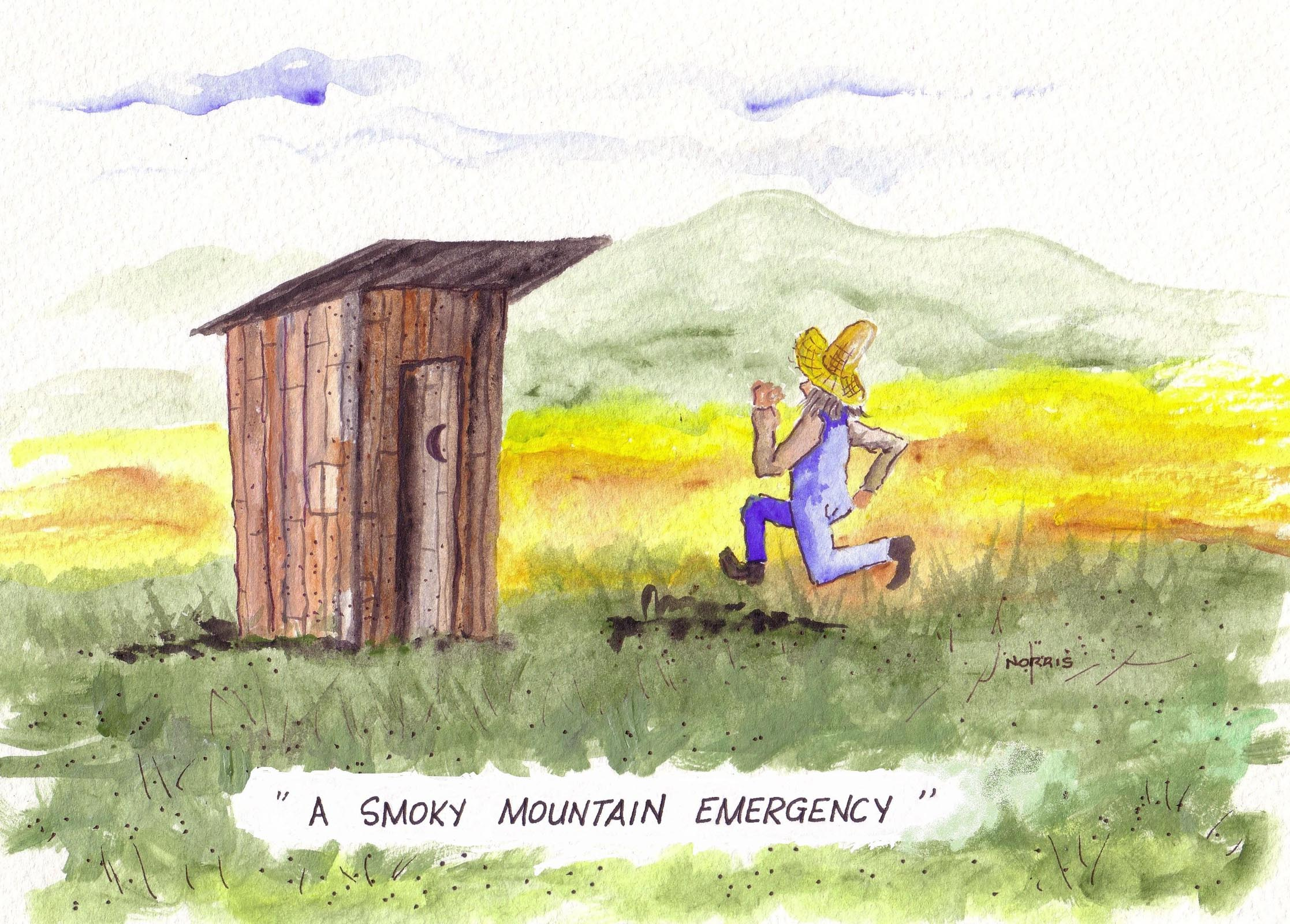 Smoky Mountain Floyd #1