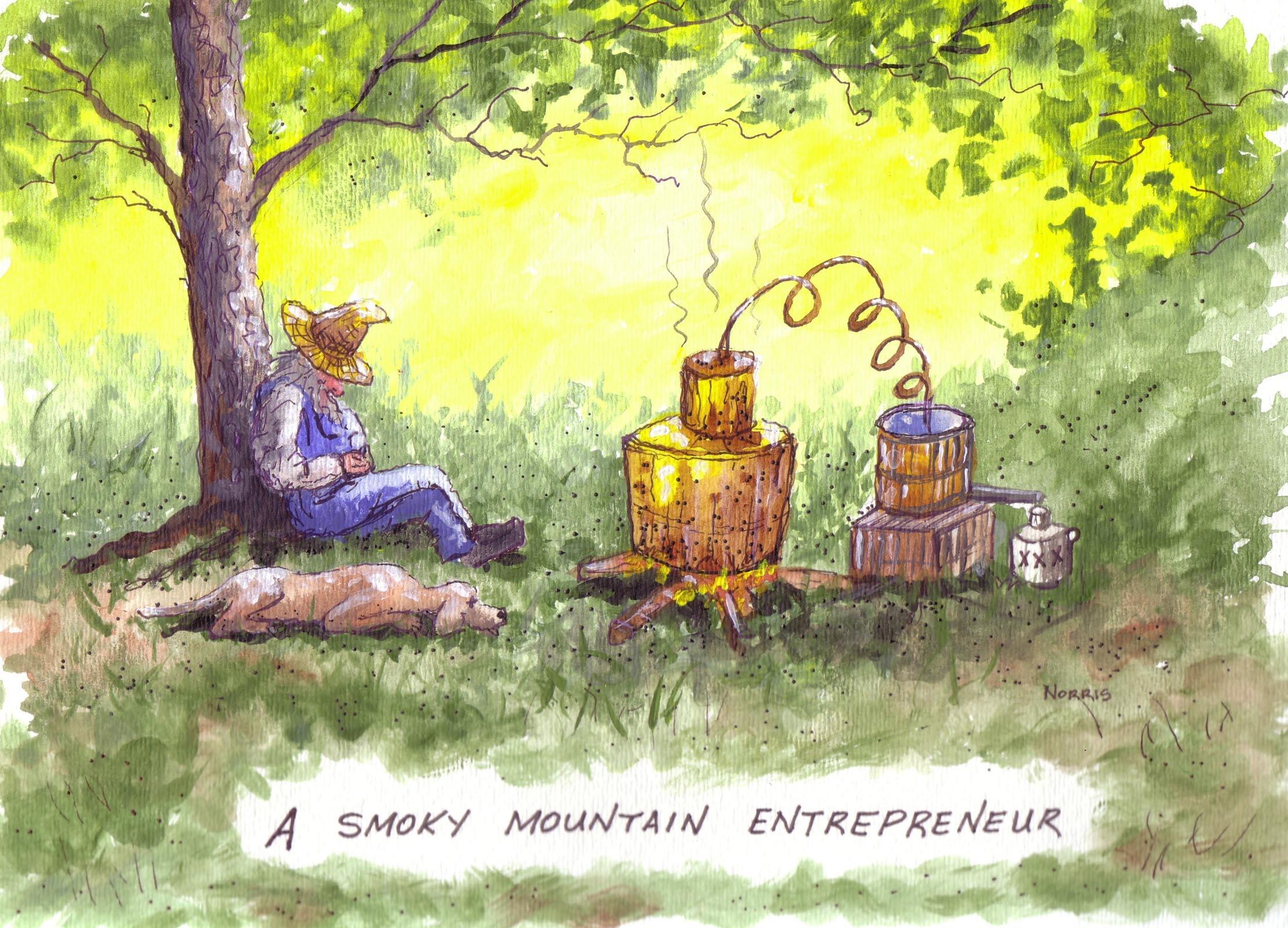 Smoky Mountain Floyd #2