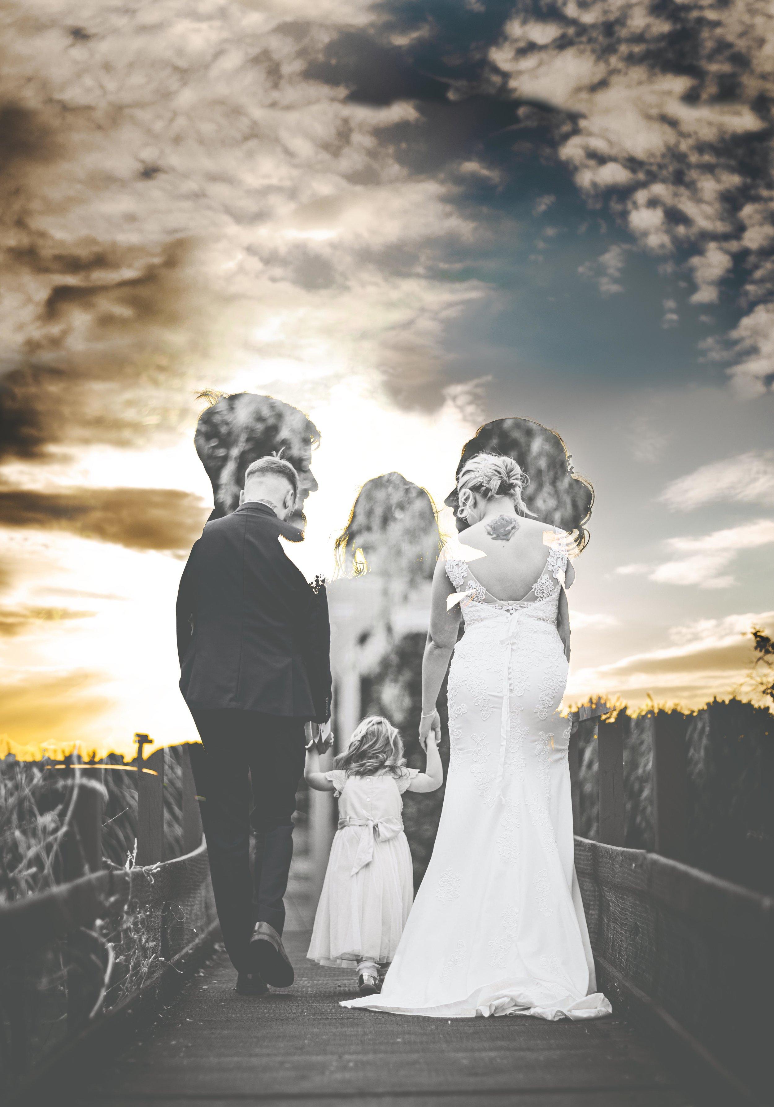 Love, Family, Wedding, Bride, Groom, Clouds, Perfect Wedding, Yorkshire Wedding.
