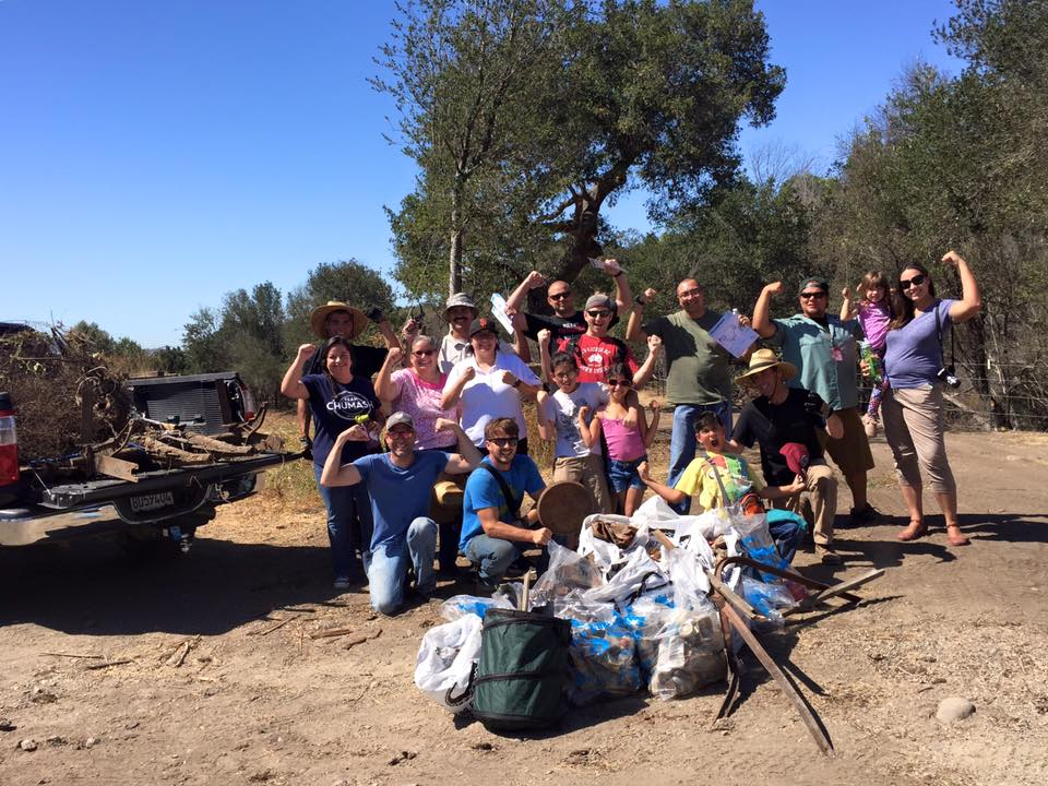 Coastal Cleanup Volunteers 2016