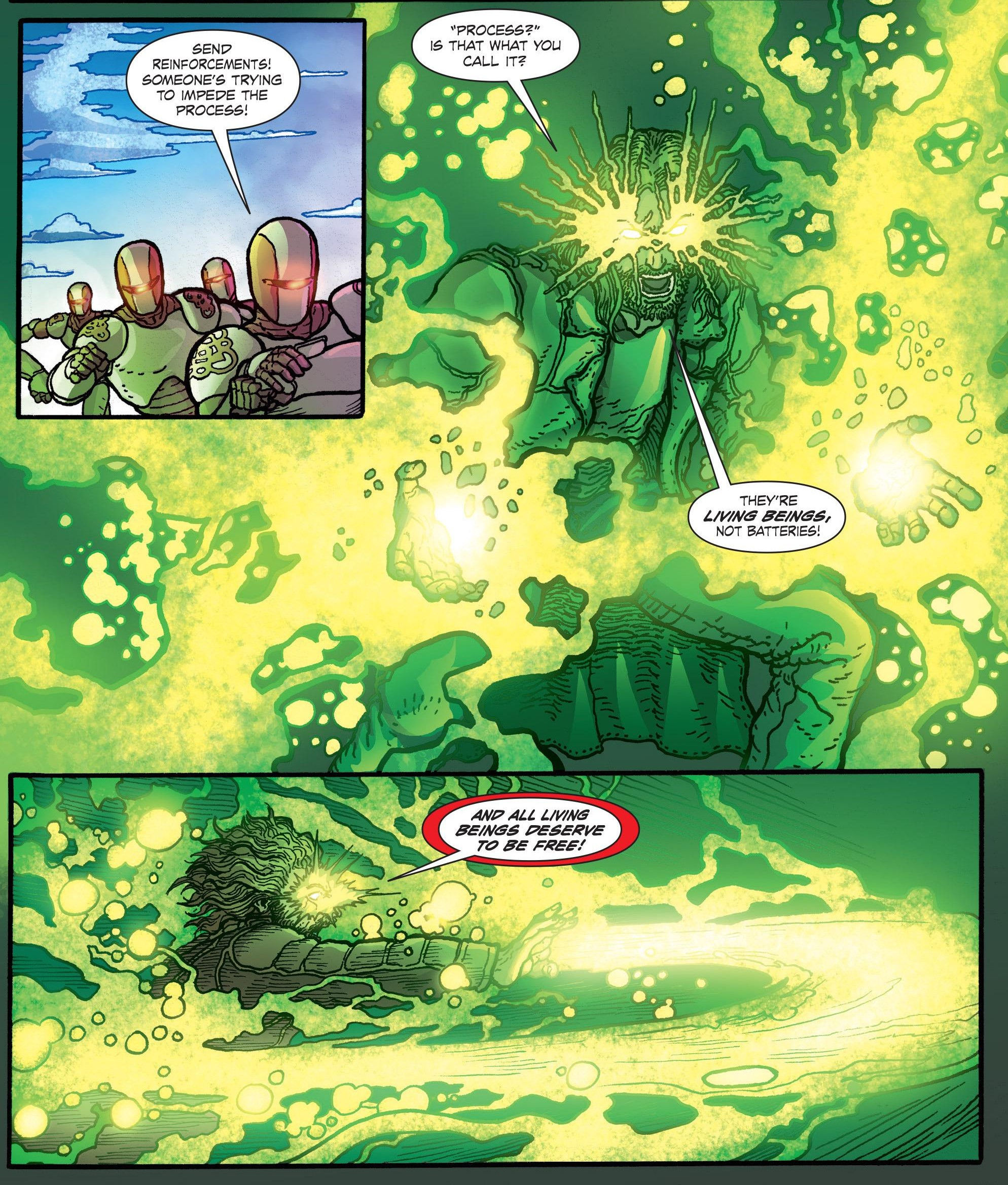 Claudio activates his Crowing Super Saiyan