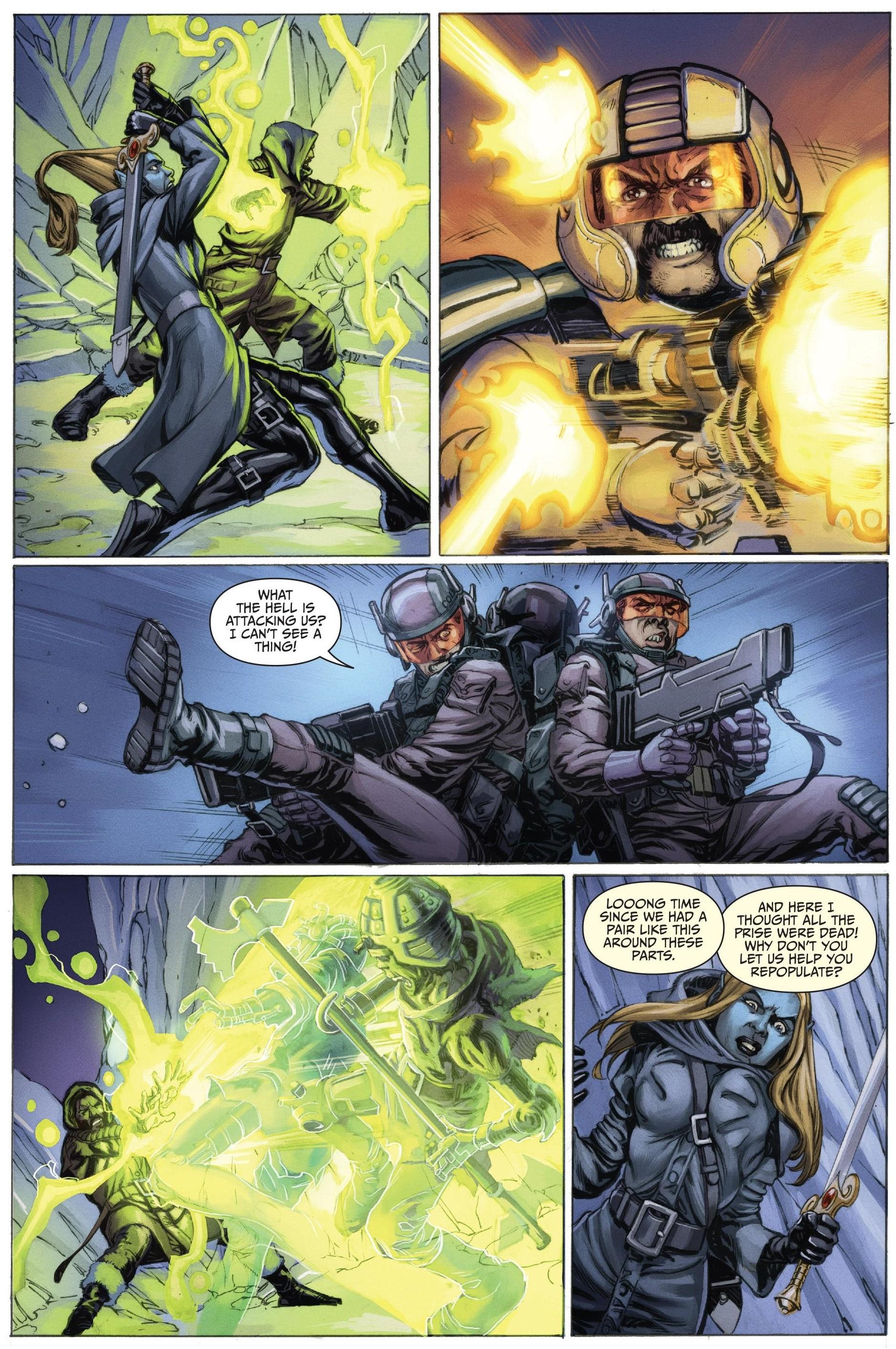 1: Doom Marine Jesse 2: Bad Invisible Groping