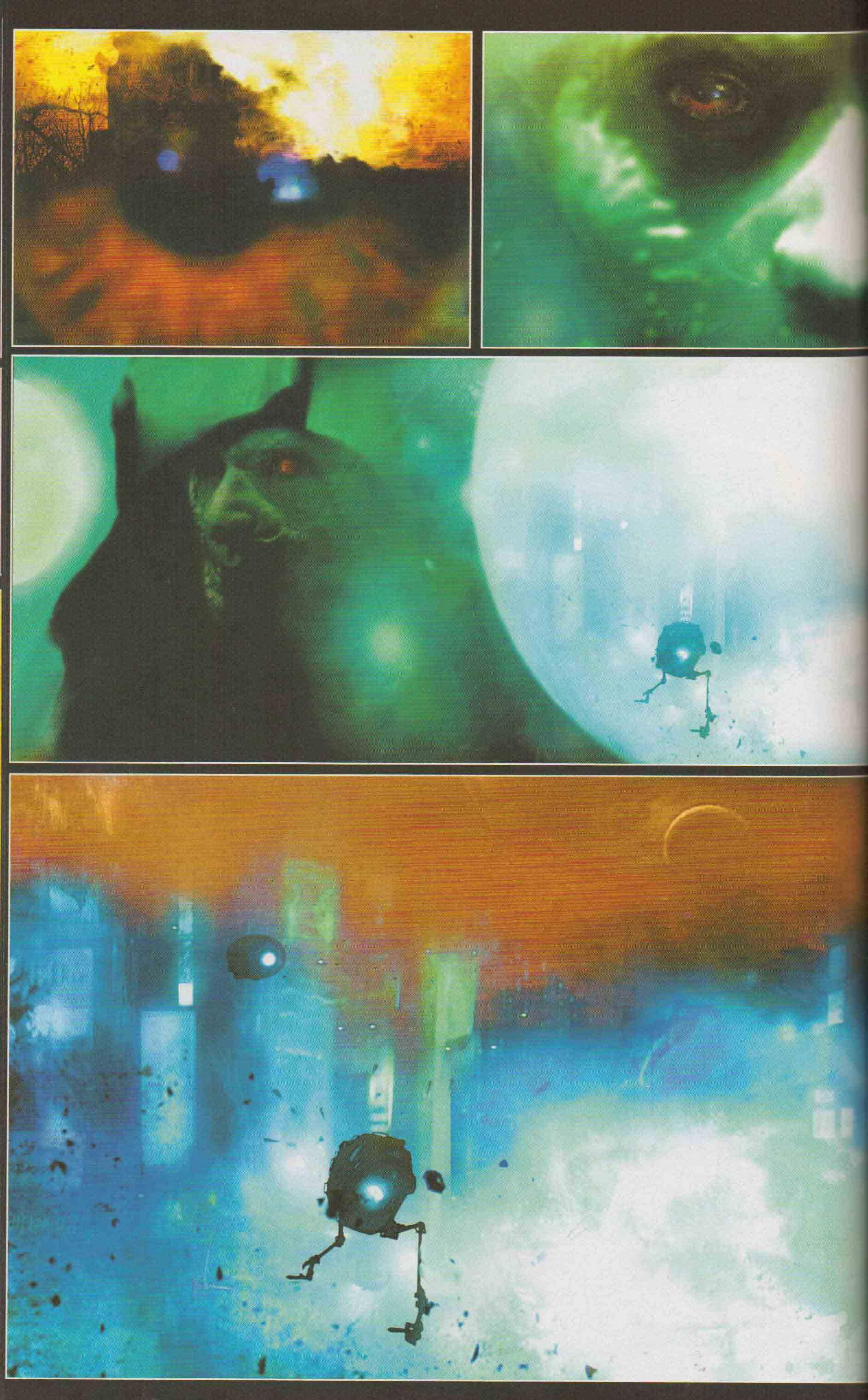 This is one of the cooler pages of this comic's abstract style
