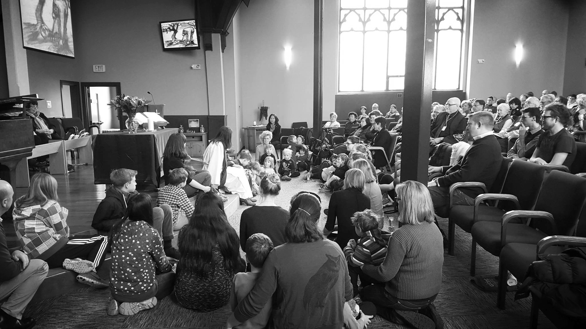 Sharing a Story of Our Faith in Sunday Worship & Song