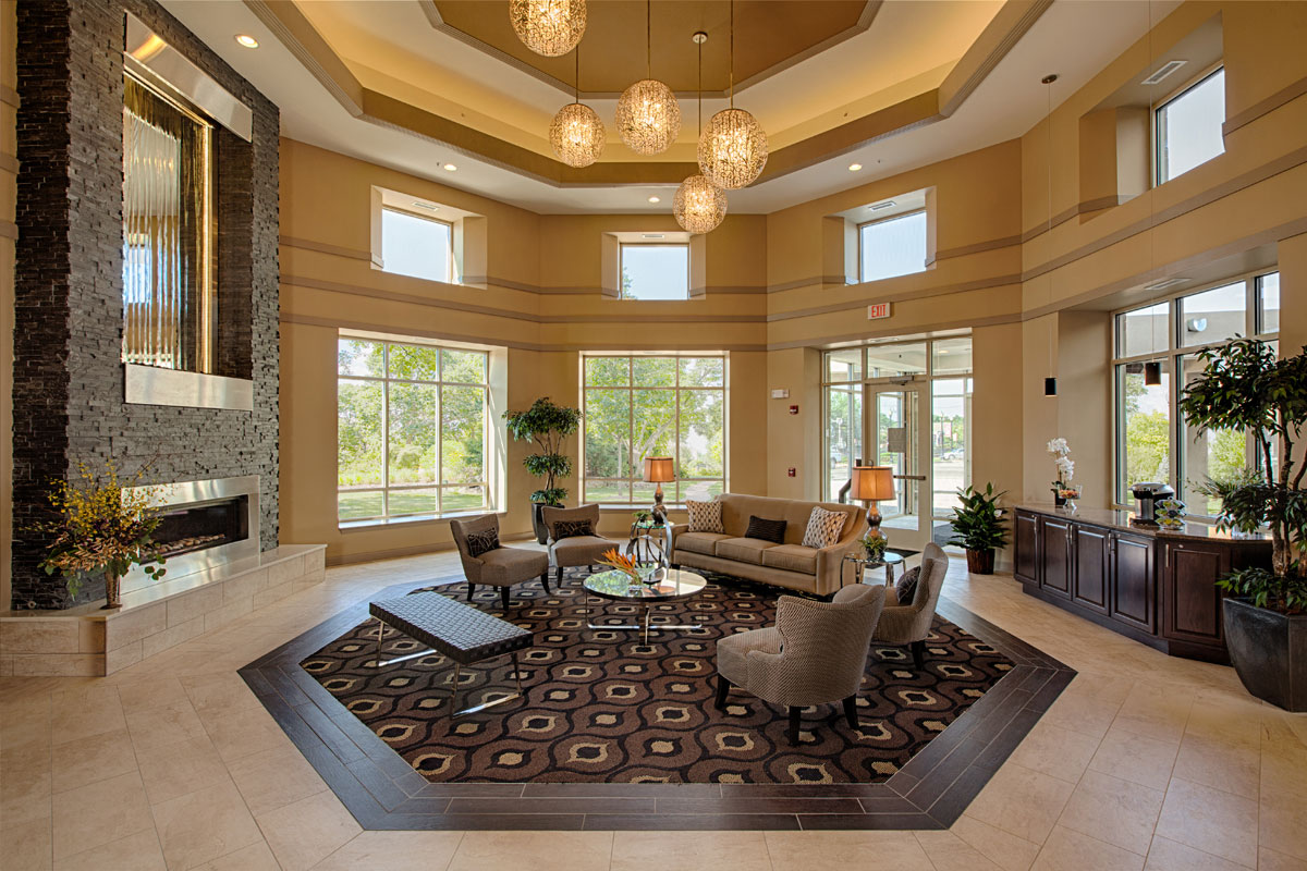 Luxury apartments- new lobby