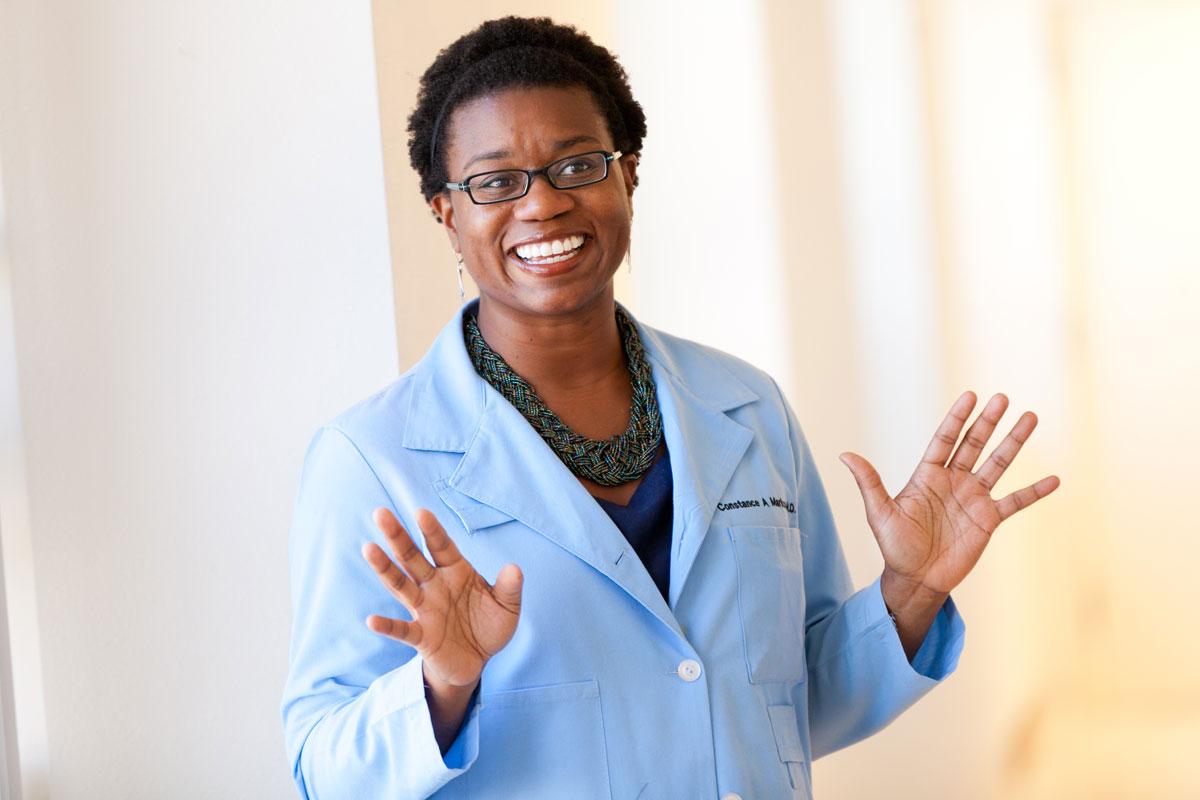 Women's health center physician