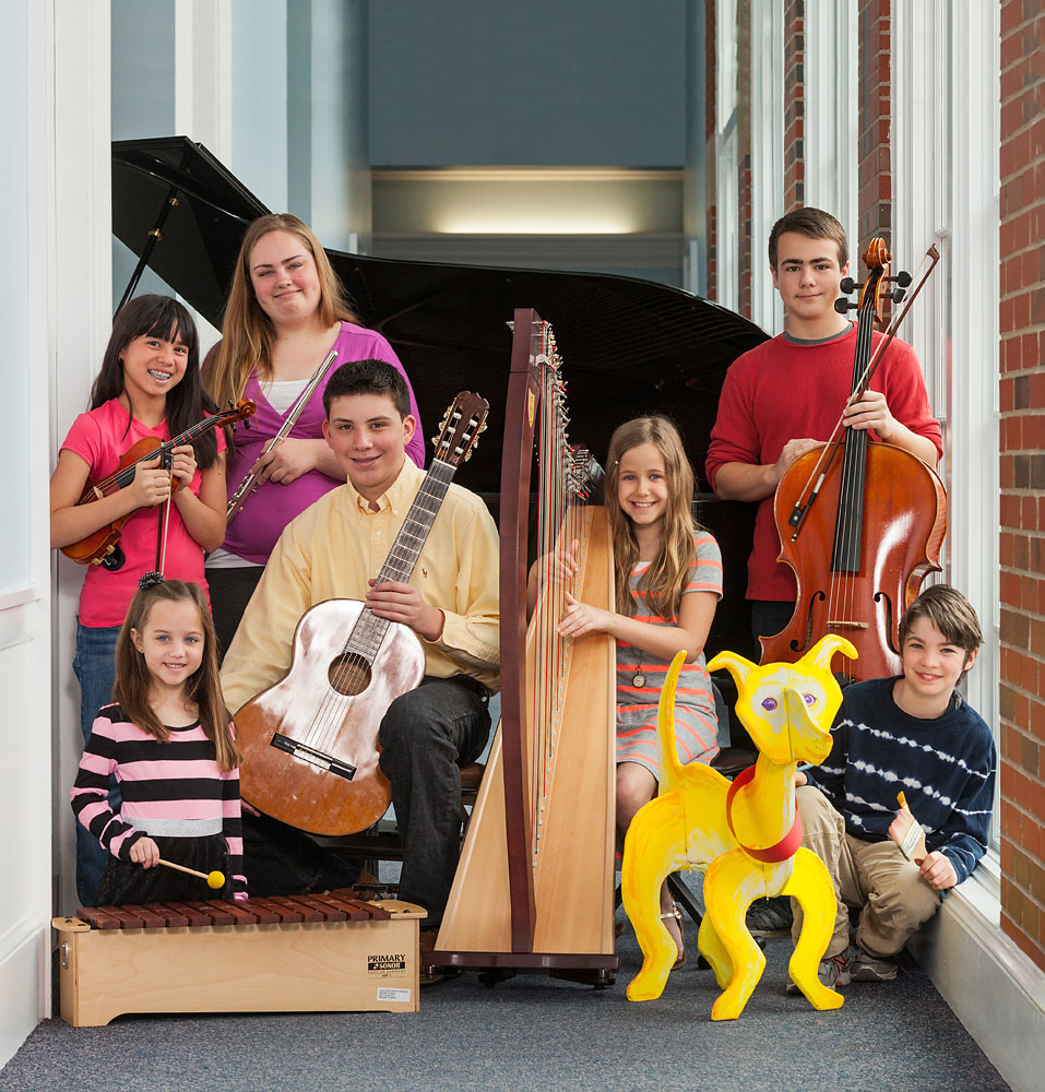 Music school students