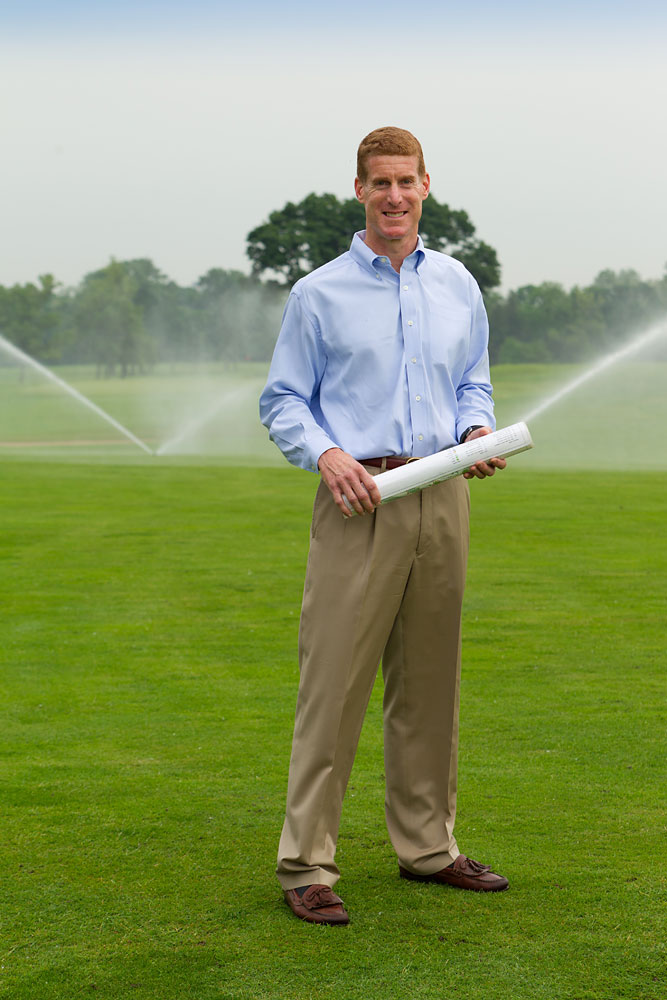 Head groundskeeper, for Golf Course Industry magazine