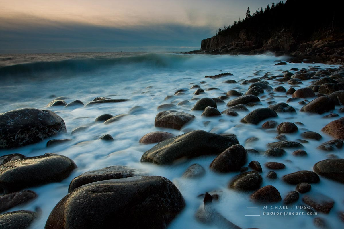 Dawn, Otter Cliff, Acadia National Park, Maine