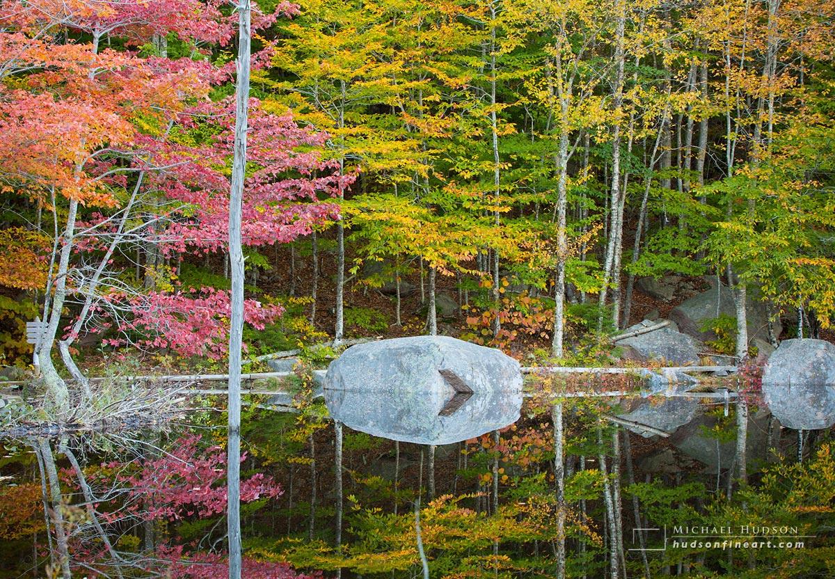 Stillness, Acadia National Park, Maine