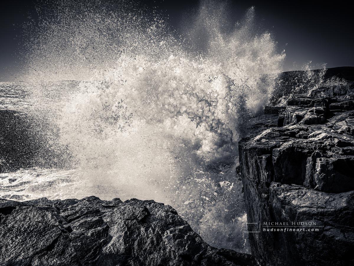 Crashing Waves, Schoodic Peninsula, Maine
