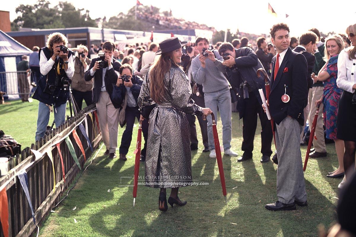 Actress Jane Seymour, Cartier International Polo, Smith's Lawn, 1988