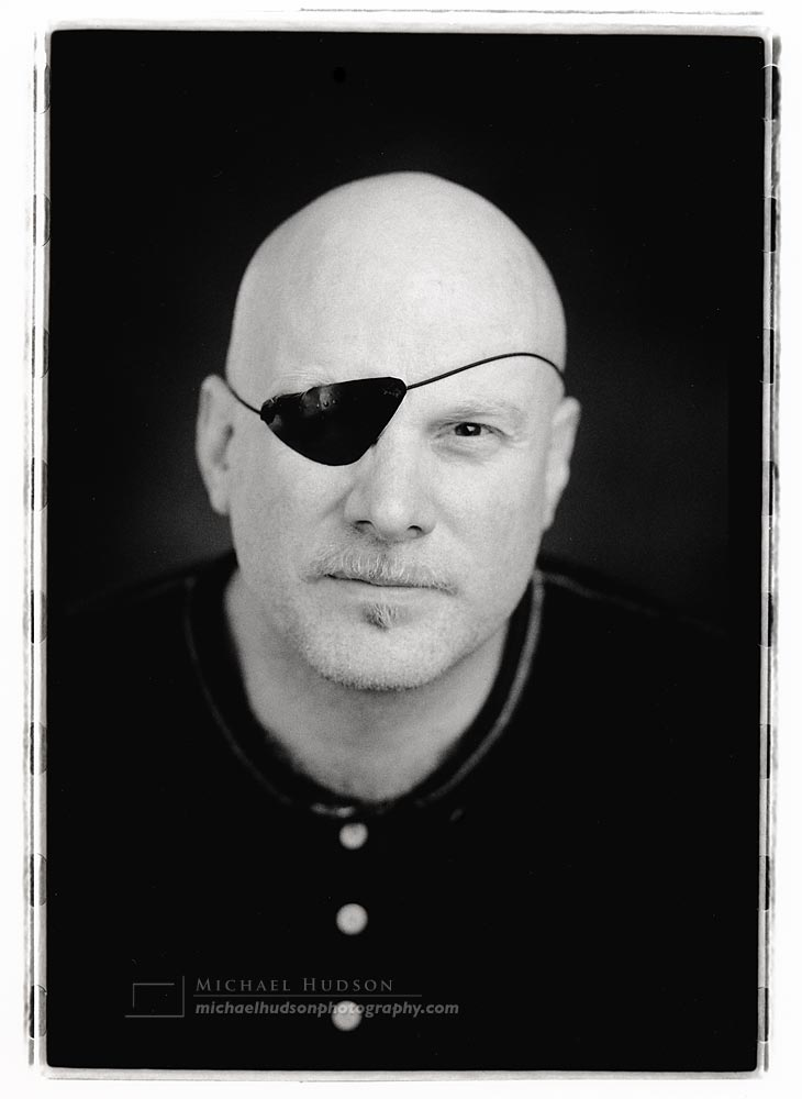 Eyepatch, from book commission, 2001