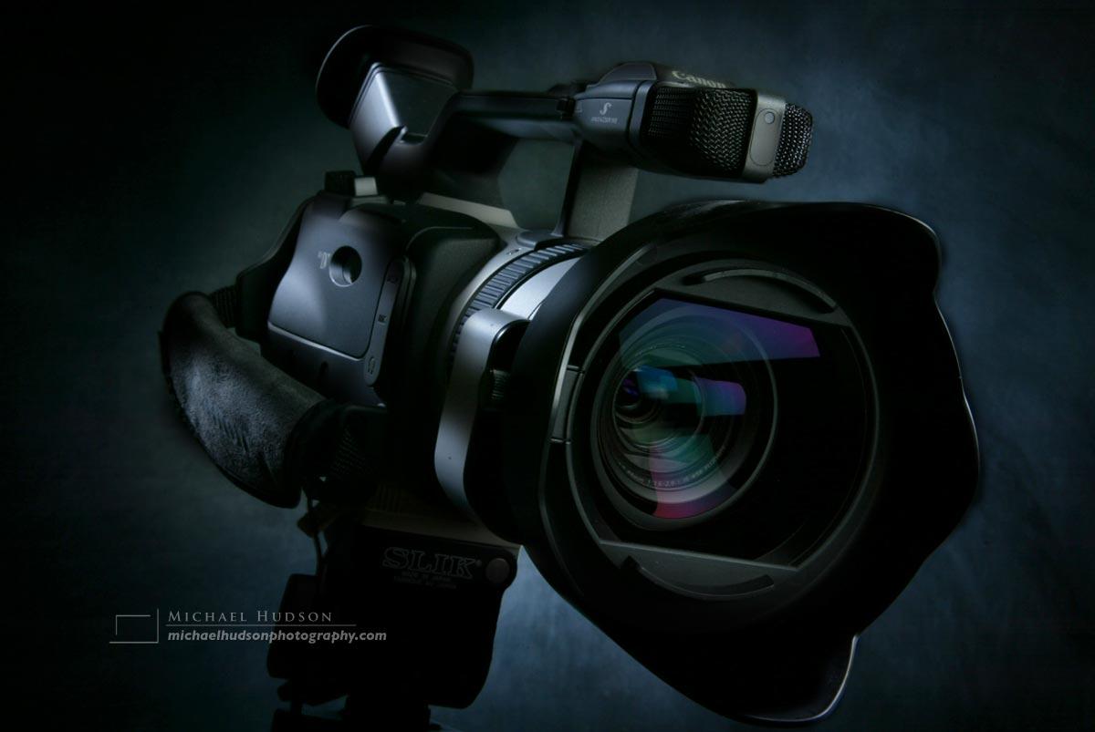 Video camera- light painting