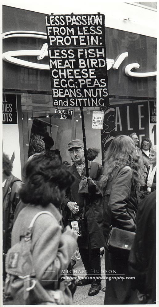 """""""The Sign Man"""" from The Londoners series, 1988-89"""