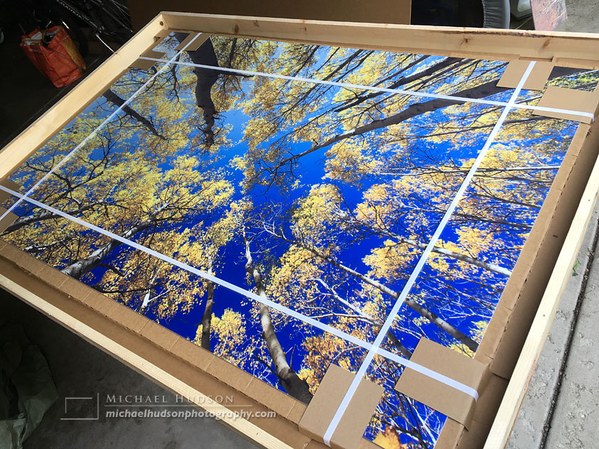 The most popular print at the show- a 40×60″ metal print
