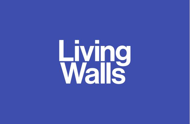 Living Walls Primary wordmark