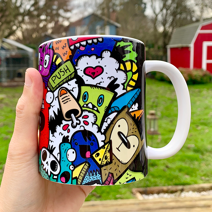 Color Gang Mug   $15