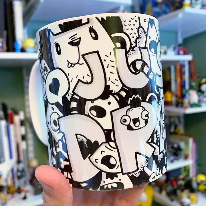 Just Draw Mug   $15