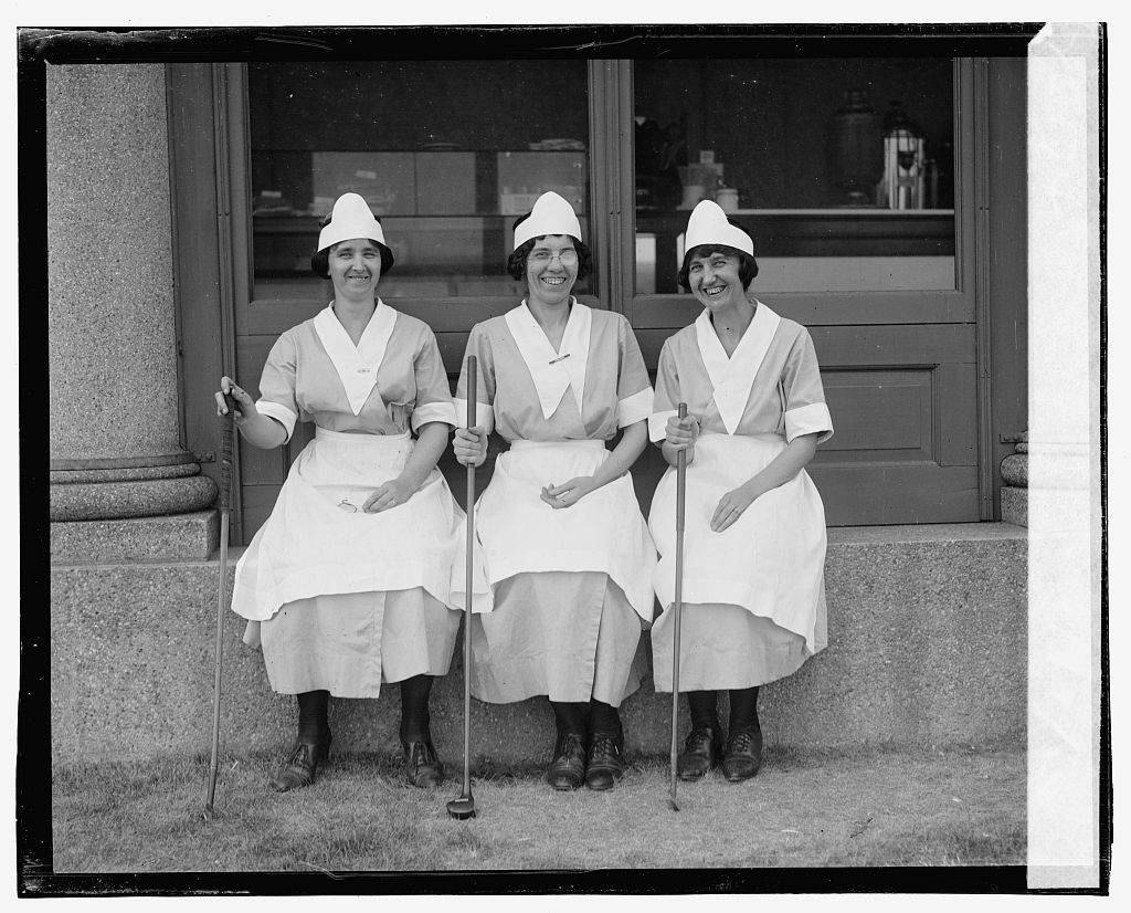 Photo taken at the Second Annual American Public Links championship golf tournament held at East Potomac Park, Washington, D.C. (Source: Chicago Tribune, June 30, 1923)
