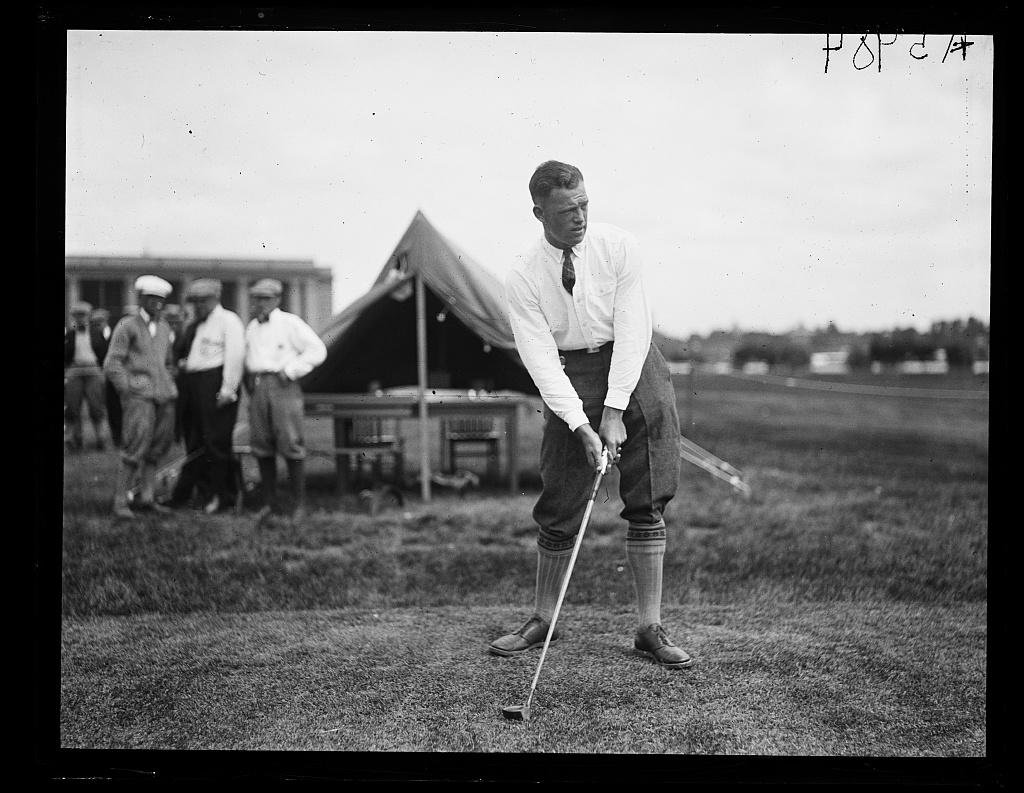 J. Stewart Whitham of N.Y., runner up of 1923 Nat'l Public Park Golf Tournament