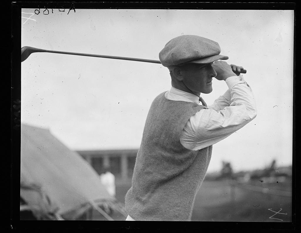 Dick Walsh of N.Y., 1923 winner of Nat'l Public Park Golf Tournament