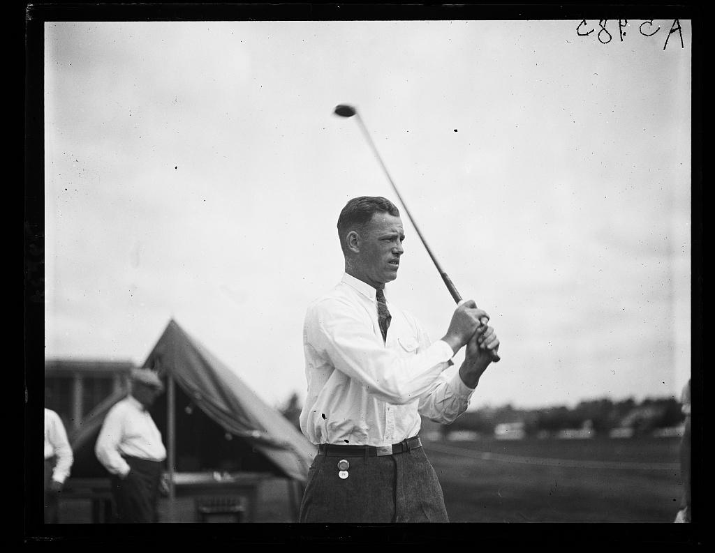 J. Stewart Whitham, runner up of 1923 Nat'l Public Park Golf Tournament