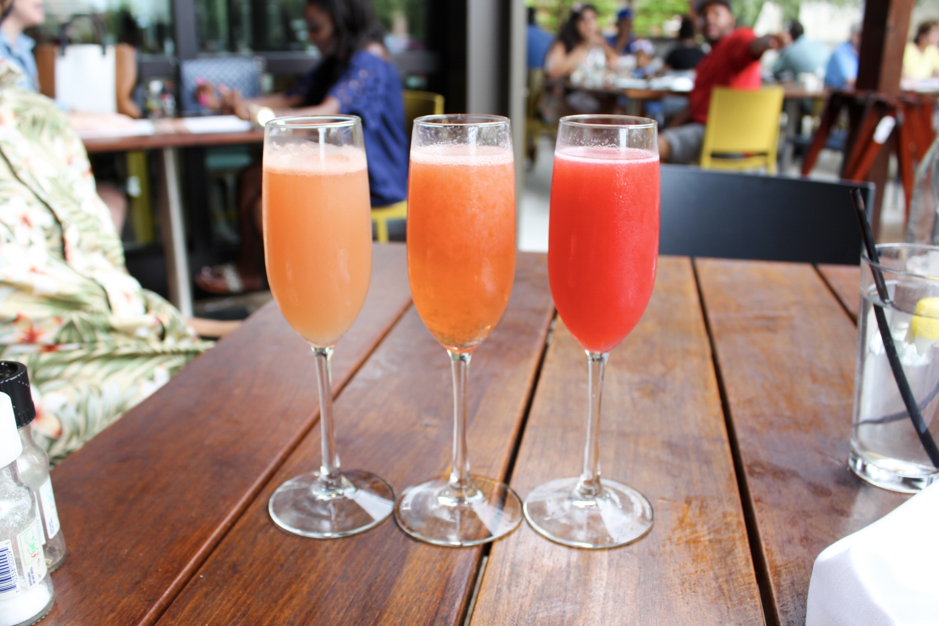 Mimosa Flight - Raspberry, Grapefruit and Stawberry