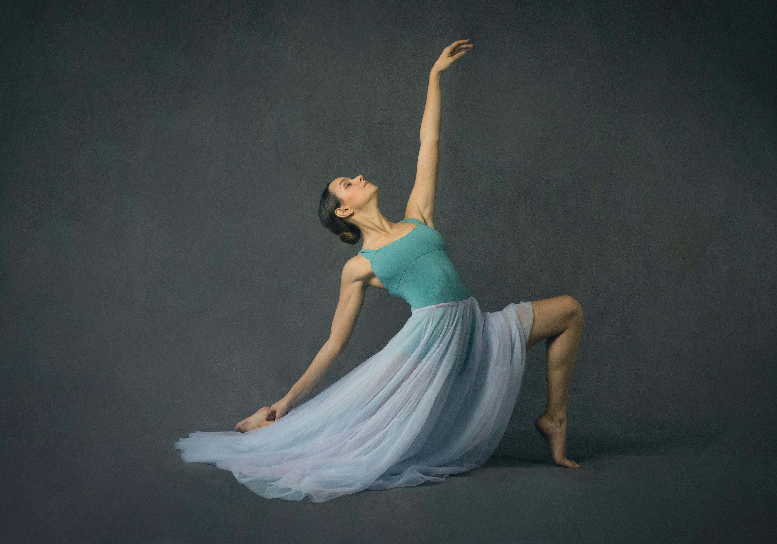 Dancer in a Flowing Skirt