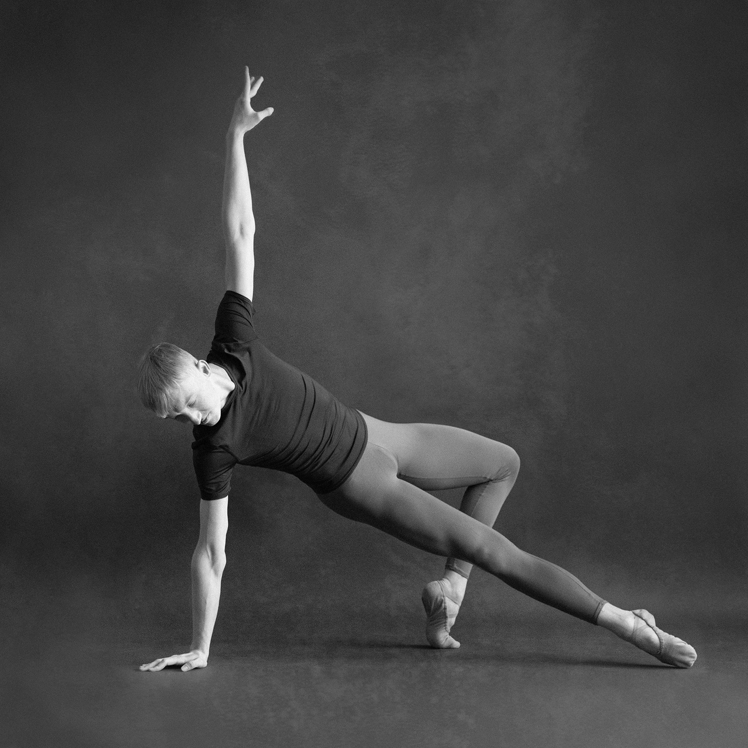 Black and White Ballet Photography