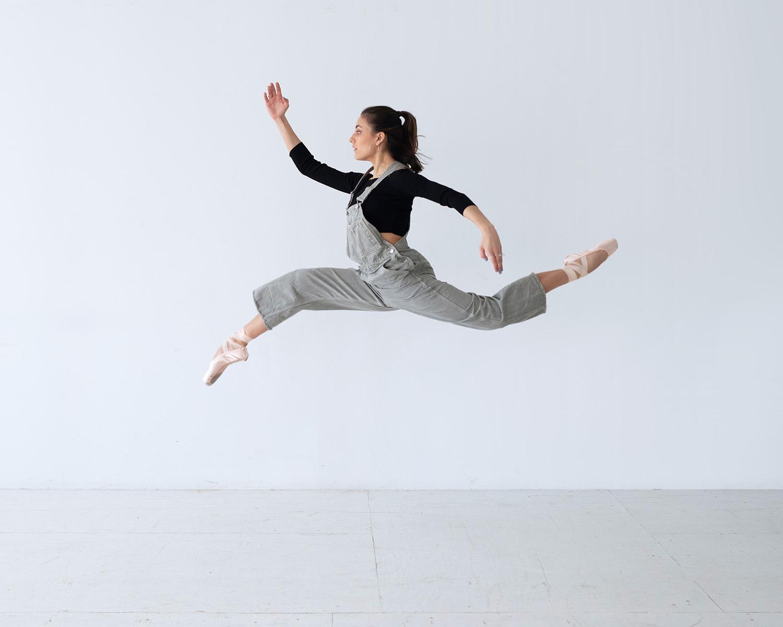 Leaping Ballet Dancer