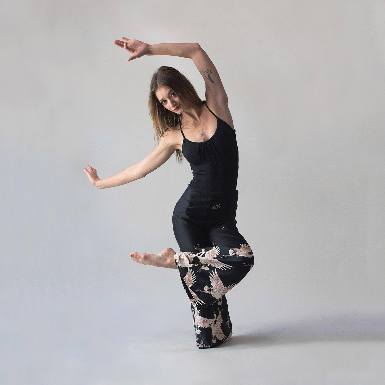 Sculptural Dance Pose