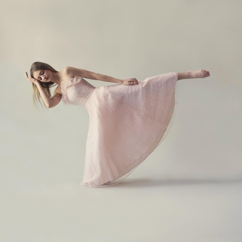 Martha Graham Inspired Dance Pose
