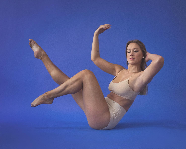 Sculptural Dance Portrait
