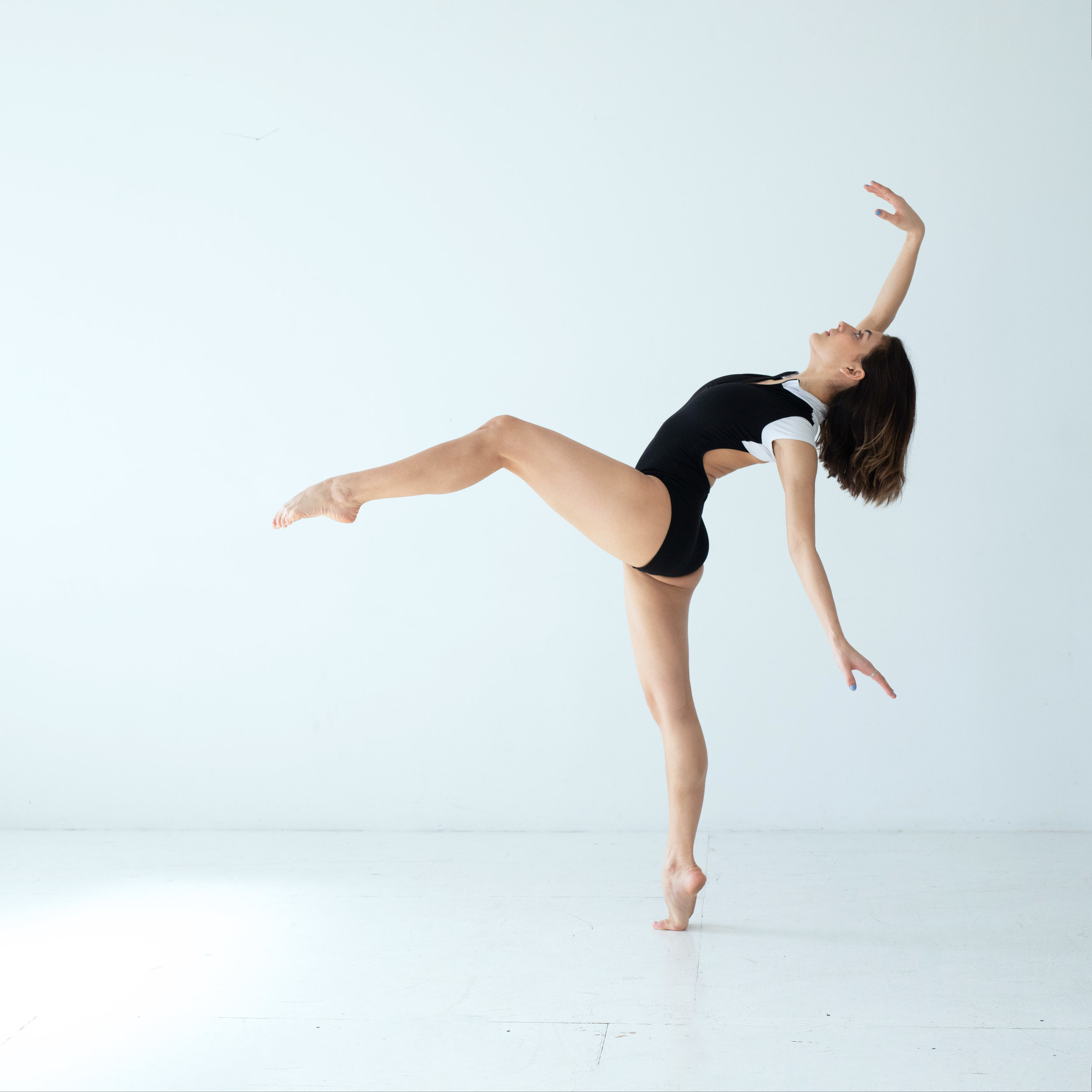 Dancer in a White Room