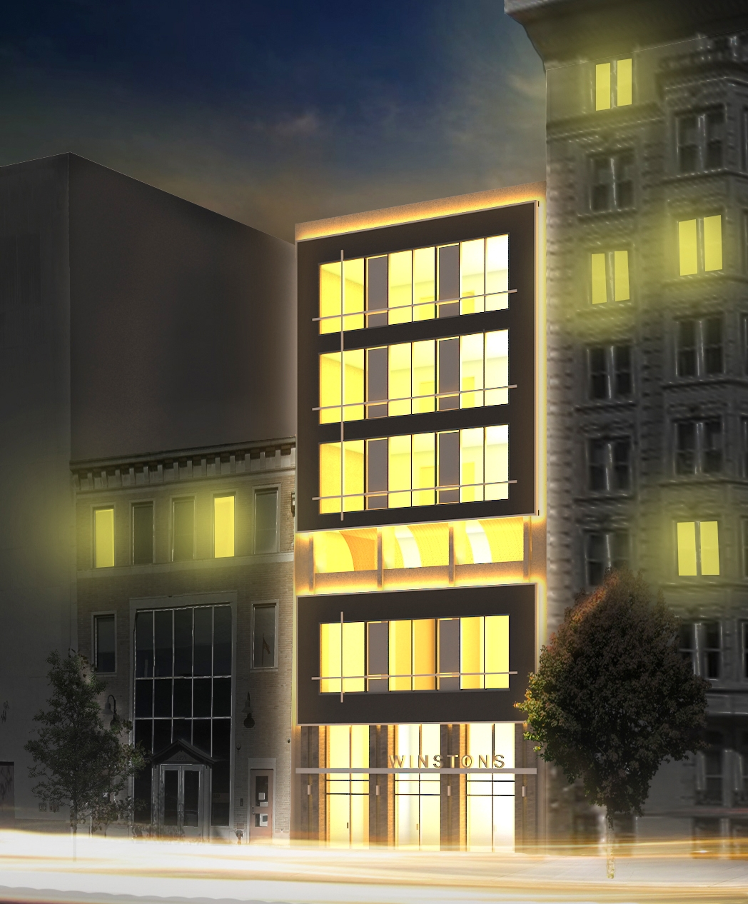 '4 Spacious Residences:3 Full Floor Units with Private Terrace and 1 Bi-Level Penthouse with 2,200 SQFT of Private Terrace' - 2207 Chestnut StreetPhiladelphia, PA 19103