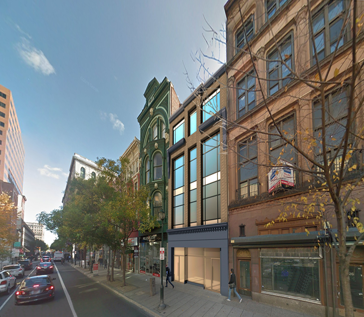 '4 Full Floor Residences between Center City and Old City, Penthouse with Setback Terrace' - 724 Chestnut StreetPhiladelphia, PA 19106