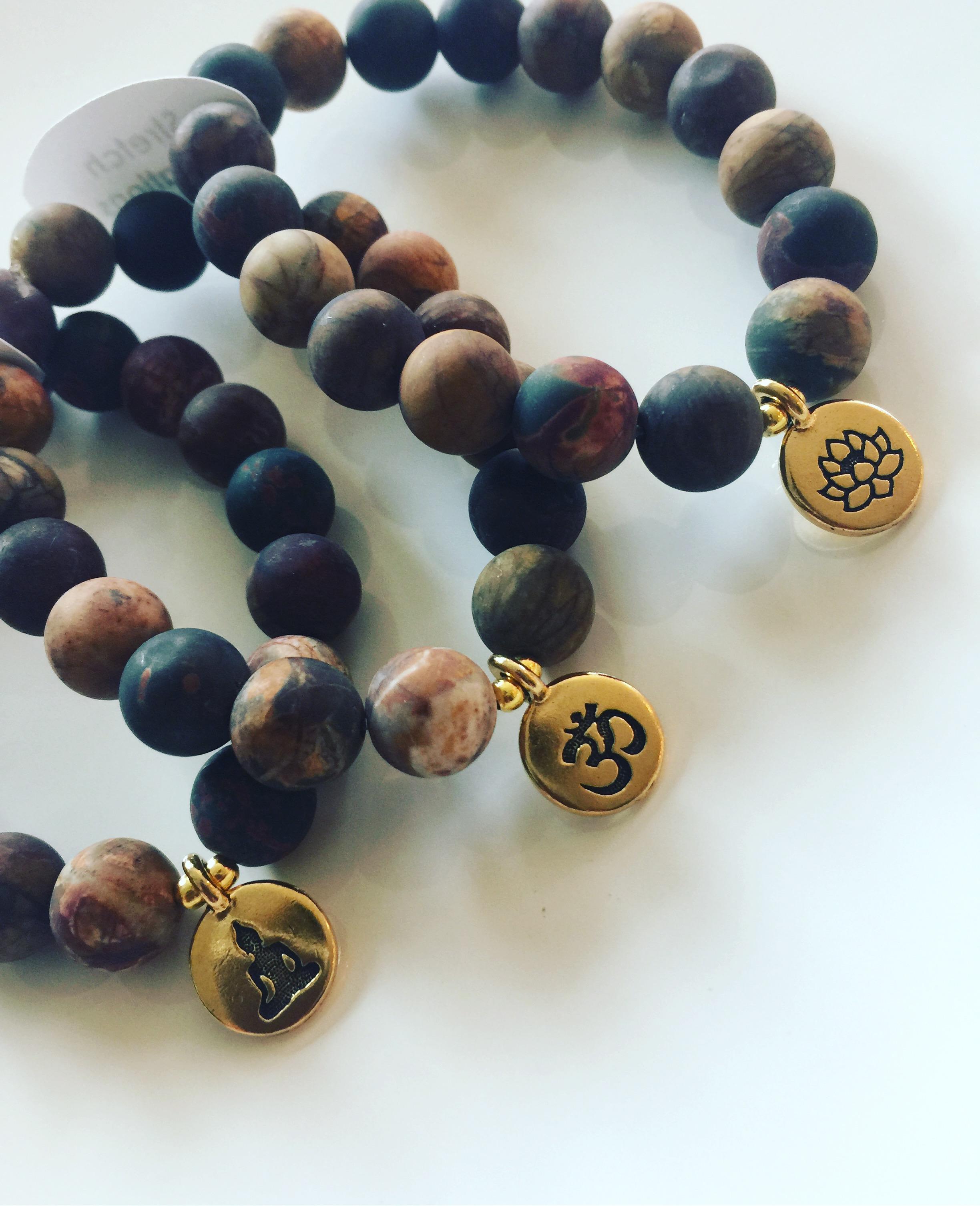 Jasper Meditation Bracelets