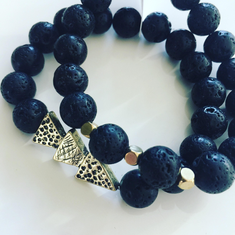 Arrow Aromatherapy Bracelet