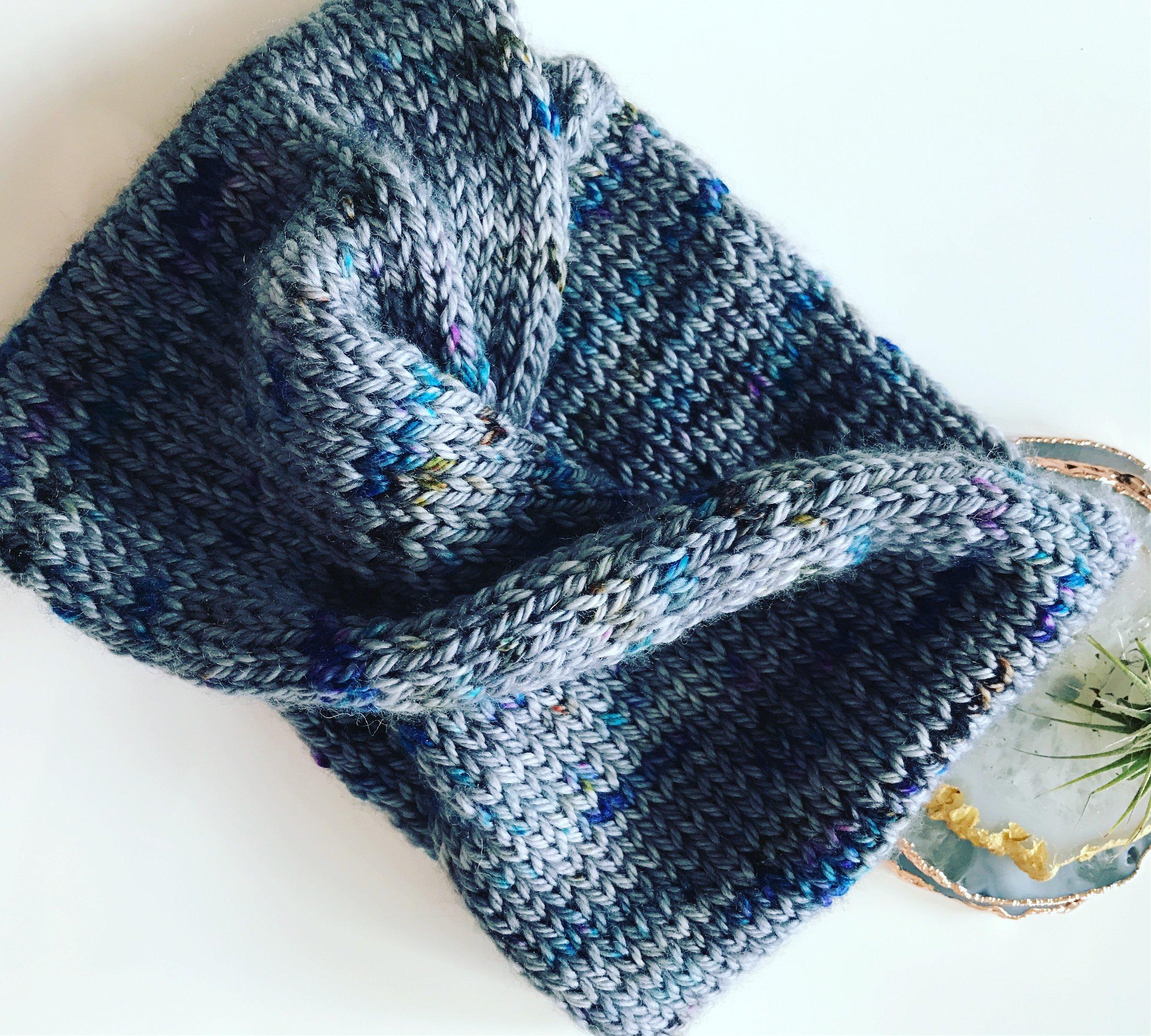 Salty Tales Double Knit Headband
