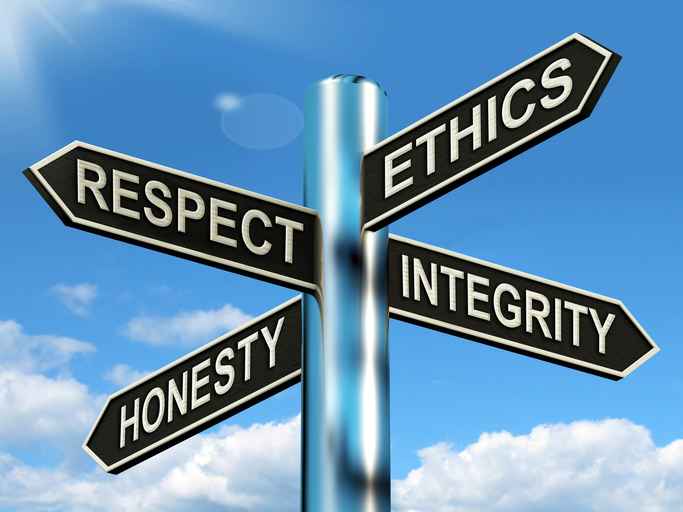 Ethics training on February 17, 2017 by Dr. Rick Reamer