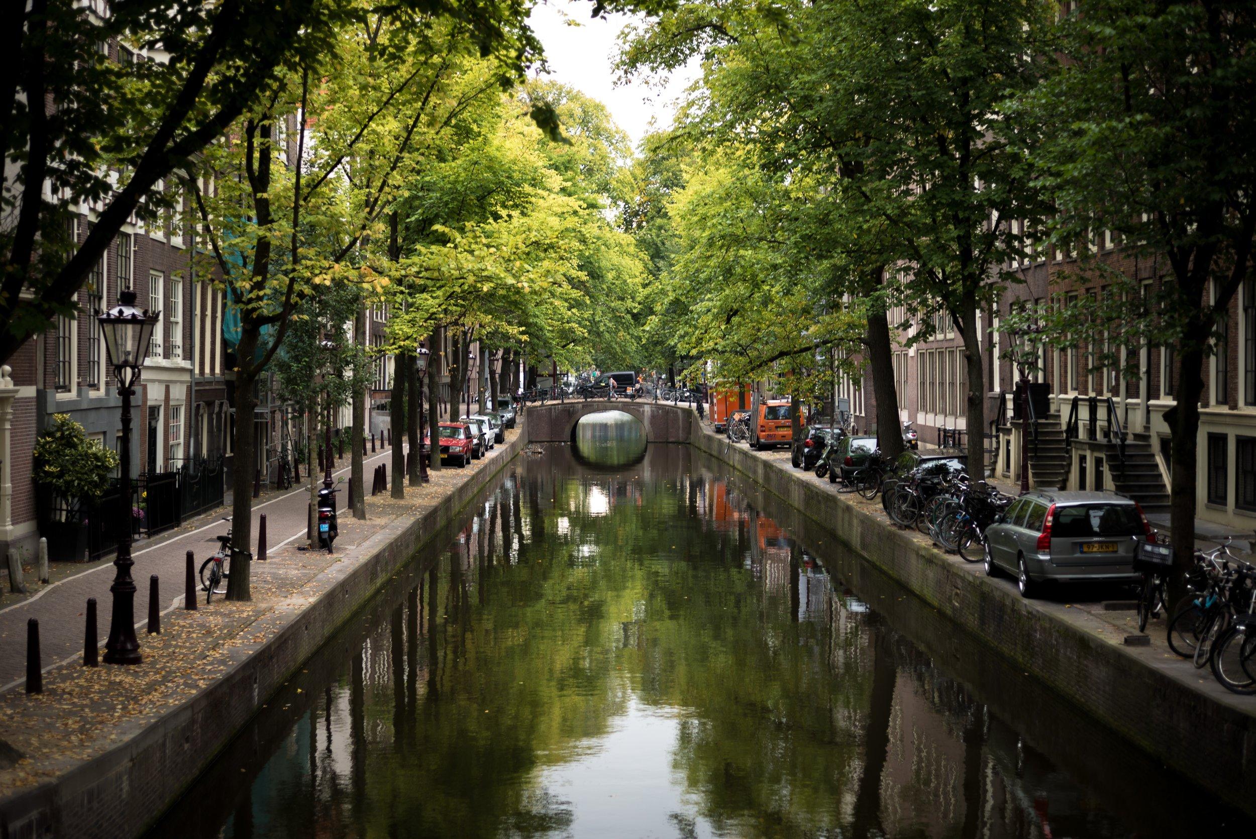 Amsterdam: Photo by  B. Boer on  Unsplash