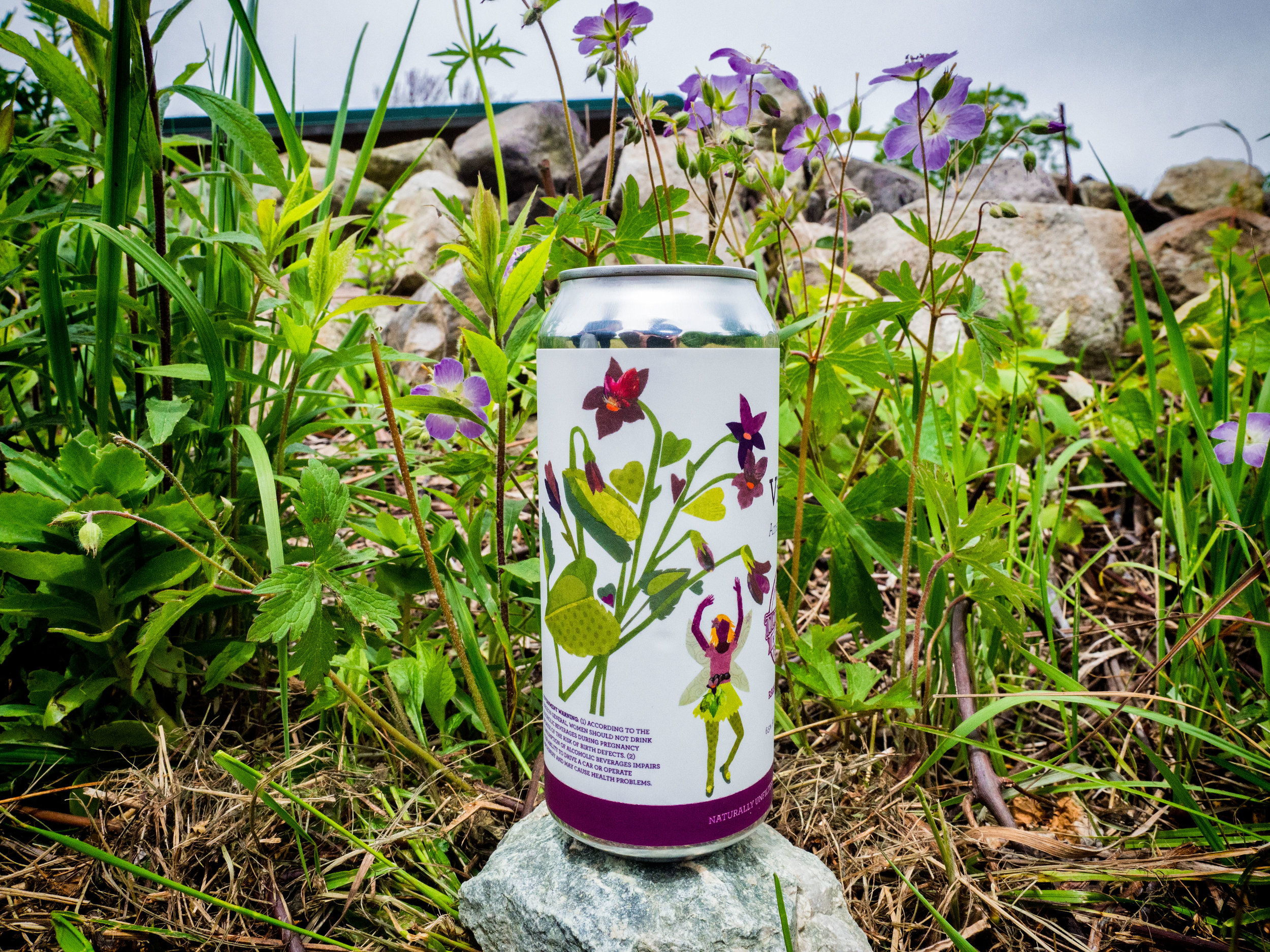 """Violet"" American IPA (Photo: Edwin Requintina Jr.)"